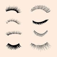 Set av ögonfransar