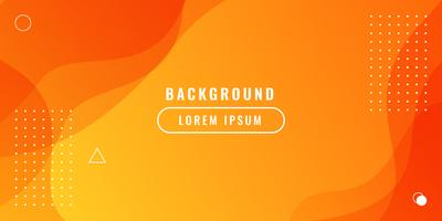 Dynamic textured orange background