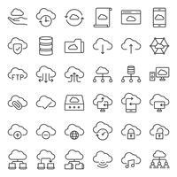 stockage en nuage et réseau