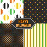 halloween seamless pattern background