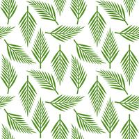Palm leaves seamless pattern for wallpaper or wrapping paper