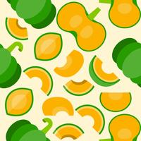 pumpkin seamless pattern for wallpaper or wrapping paper