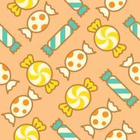 Dulces dulces rellenaron el esquema de patrones sin fisuras adecuado