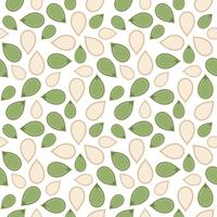 pumpkin seed seamless pattern for wallpaper or wrapping paper