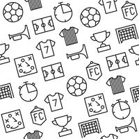Seamless pattern soccer theme, for use as background