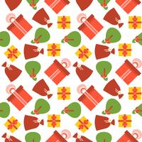 Present gift box seamless pattern suitable for use as wrapping paper gift,
