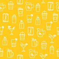 Kitchen appliances seamless pattern for wallpaper or wrapping paper