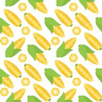 corn seamless pattern for wallpaper or wrapping paper