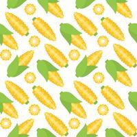 maïs naadloos patroon voor behang of inpakpapier