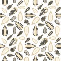 zonnebloemzaad naadloos patroon voor behang of inpakpapier