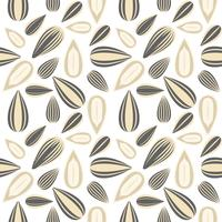 sunflower seed seamless pattern for wallpaper or wrapping paper