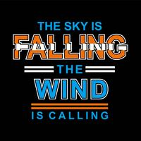 Falling The Win slogan tee t-shirt afbeeldingen