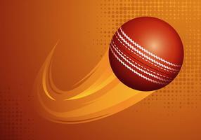 cricket boll vektor illustration