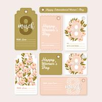 Vector Gifts Tags