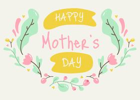 Glücklicher Vektor der Mutter Tages