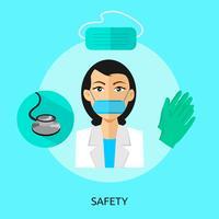Safety Conceptual illustration Design