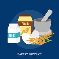 Bakery Product Conceptual illustration Design vector