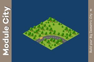 estrada de velocidade de paisagem