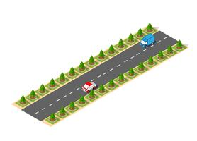 Suburban high-speed isometric