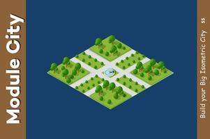 Kruispunt van stadsstraten