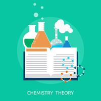 Template Complex Icon 479. Chemistry Theory Conceptueel ontwerp
