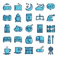 Sleeping icons pack