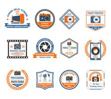 Photography Emblems Set  vector