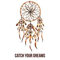 Amerikaans-Indische dreamcatcher pictogram
