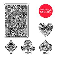 Set de cartes décoratives