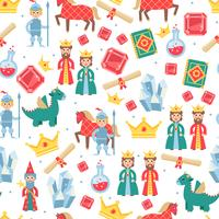 Fairytale Seamless Pattern