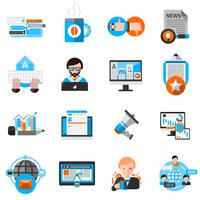 Blogging Icons Set