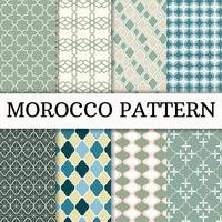 Morocco Pattern set Background