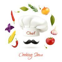 Concept de spectacle de cuisine