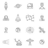 ruimte pictogram overzicht