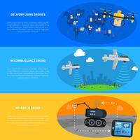 Set de Banners de Drones