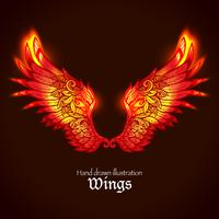 vleugels en vlam