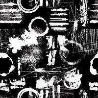 Grunge textura de patrones sin fisuras