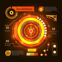 Interface Hud orange