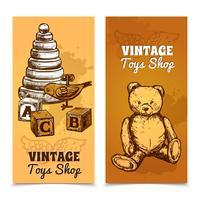 Set de pancartas de juguete