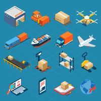 Isometric Logistic Icons