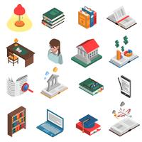 Böcker Icon Set