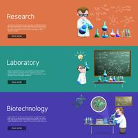Science Research  Banners