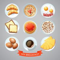 Poster With Breakfast Set