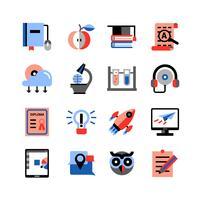 Inställningar för online utbildningssymboler