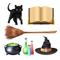 Halloween Magic Set vector