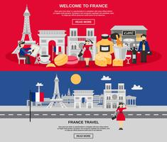 Frankrijk banner set