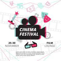 Affiche du festival de cinéma