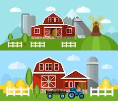 Farm Flat Banner