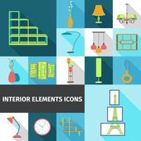 Elementos interiores plano