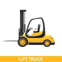 Ilustração de caminhão de elevador